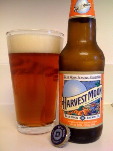 Blue Moon's Harvest Moon Pumpkin Ale