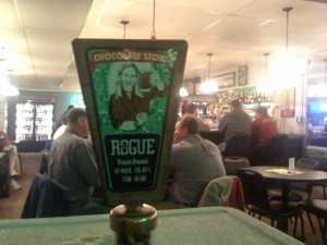 Rogue Chocolate Stout Tasting