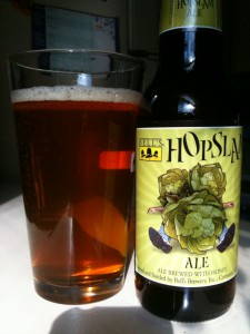 Enjoying a HopSlam