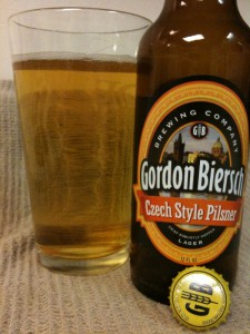 Gordon Biersch's Czech Style Pilsner